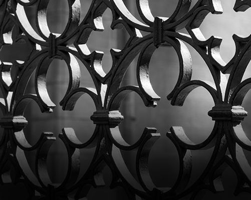 Ornamental metal for fencing & structural beauty